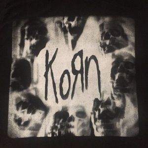 Korn Heavy Metal Concert Tour Band Tee